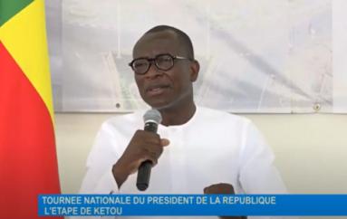 Tournée nationale du Chef de l'État Patrice Talon : Étape de Kétou